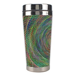 Spiral Spin Background Artwork Stainless Steel Travel Tumblers by Nexatart