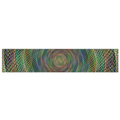 Spiral Spin Background Artwork Flano Scarf (small) by Nexatart
