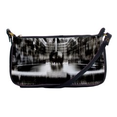 Black And White Hdr Spreebogen Shoulder Clutch Bags by Nexatart