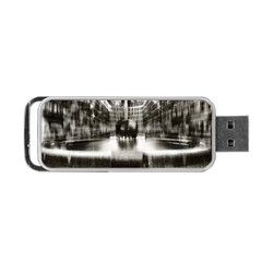 Black And White Hdr Spreebogen Portable Usb Flash (two Sides) by Nexatart