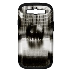 Black And White Hdr Spreebogen Samsung Galaxy S Iii Hardshell Case (pc+silicone) by Nexatart