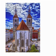 Steeple Church Building Sky Great Large Garden Flag (two Sides) by Nexatart
