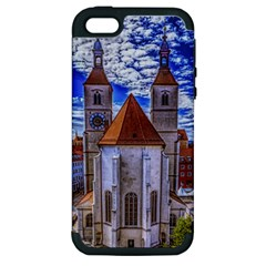Steeple Church Building Sky Great Apple Iphone 5 Hardshell Case (pc+silicone) by Nexatart
