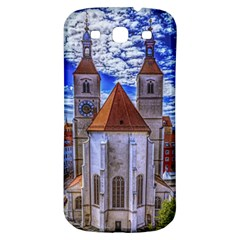 Steeple Church Building Sky Great Samsung Galaxy S3 S Iii Classic Hardshell Back Case by Nexatart