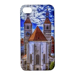 Steeple Church Building Sky Great Apple Iphone 4/4s Hardshell Case With Stand by Nexatart