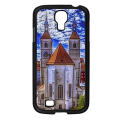 Steeple Church Building Sky Great Samsung Galaxy S4 I9500/ I9505 Case (black) by Nexatart