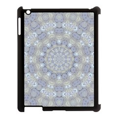 Flower Lace In Decorative Style Apple Ipad 3/4 Case (black) by pepitasart