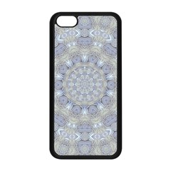 Flower Lace In Decorative Style Apple Iphone 5c Seamless Case (black) by pepitasart