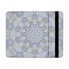 Flower Lace In Decorative Style Samsung Galaxy Tab Pro 8 4  Flip Case by pepitasart