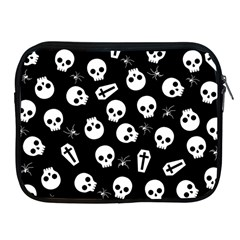 Skull, Spider And Chest    Halloween Pattern Apple Ipad 2/3/4 Zipper Cases by Valentinaart