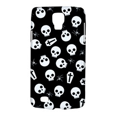 Skull, Spider And Chest    Halloween Pattern Galaxy S4 Active by Valentinaart