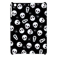Skull, Spider And Chest    Halloween Pattern Apple Ipad Mini Hardshell Case by Valentinaart