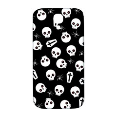 Skull, Spider And Chest    Halloween Pattern Samsung Galaxy S4 I9500/i9505  Hardshell Back Case by Valentinaart