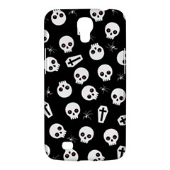 Skull, Spider And Chest    Halloween Pattern Samsung Galaxy Mega 6 3  I9200 Hardshell Case by Valentinaart