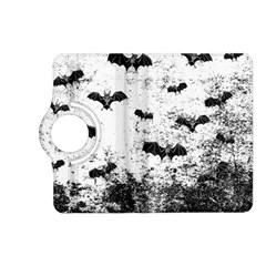 Vintage Halloween Bat Pattern Kindle Fire Hd (2013) Flip 360 Case by Valentinaart