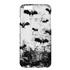 Vintage Halloween Bat Pattern Apple Iphone 6 Plus/6s Plus Hardshell Case by Valentinaart
