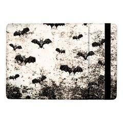 Vintage Halloween Bat Pattern Samsung Galaxy Tab Pro 10 1  Flip Case by Valentinaart