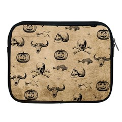 Vintage Halloween Pattern Apple Ipad 2/3/4 Zipper Cases by Valentinaart