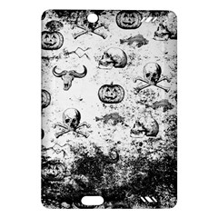 Vintage Halloween Pattern Amazon Kindle Fire Hd (2013) Hardshell Case by Valentinaart