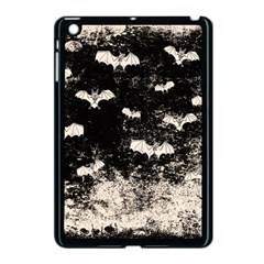 Vintage Halloween Bat Pattern Apple Ipad Mini Case (black) by Valentinaart