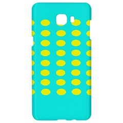 Green And Yellow Samsung C9 Pro Hardshell Case  by NSTP