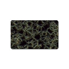 Jagged Stone 2d Magnet (name Card) by MoreColorsinLife