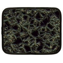 Jagged Stone 2d Netbook Case (large) by MoreColorsinLife