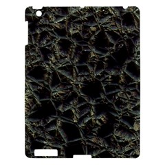 Jagged Stone 2d Apple Ipad 3/4 Hardshell Case by MoreColorsinLife