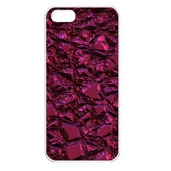 Jagged Stone 2a Apple Iphone 5 Seamless Case (white) by MoreColorsinLife