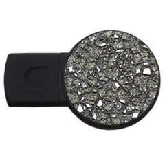 Jagged Stone 3a Usb Flash Drive Round (4 Gb) by MoreColorsinLife