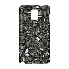 Jagged Stone 3a Samsung Galaxy Note 4 Hardshell Case by MoreColorsinLife