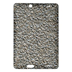 Jagged Stone Silver Amazon Kindle Fire Hd (2013) Hardshell Case by MoreColorsinLife