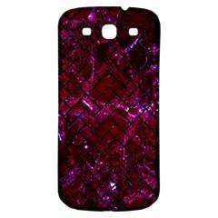 Brick2 Black Marble & Burgundy Marble (r) Samsung Galaxy S3 S Iii Classic Hardshell Back Case by trendistuff