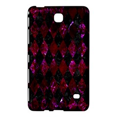 Diamond1 Black Marble & Burgundy Marble Samsung Galaxy Tab 4 (8 ) Hardshell Case  by trendistuff