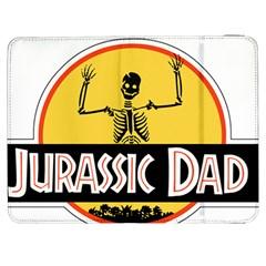 Jurassic Dad Dinosaur Skeleton Funny Birthday Gift Samsung Galaxy Tab 7  P1000 Flip Case by PodArtist