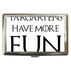 Targaryens Have More Fun   Blondes Have More Fun Black Cigarette Money Cases by PodArtist