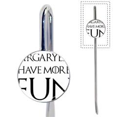 Targaryens Have More Fun   Blondes Have More Fun Black Book Mark by PodArtist