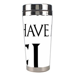 Targaryens Have More Fun   Blondes Have More Fun Black Stainless Steel Travel Tumblers by PodArtist