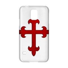 Crusader Cross Samsung Galaxy S5 Hardshell Case  by Valentinaart