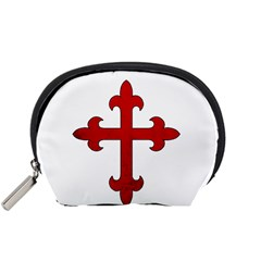 Crusader Cross Accessory Pouches (small)  by Valentinaart