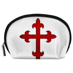 Crusader Cross Accessory Pouches (large)  by Valentinaart