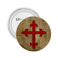 Crusader Cross 2 25  Buttons by Valentinaart