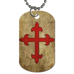 Crusader Cross Dog Tag (two Sides) by Valentinaart