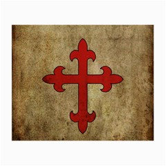 Crusader Cross Small Glasses Cloth by Valentinaart