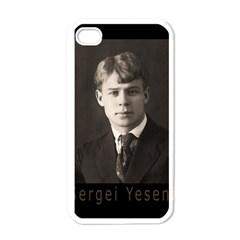 Sergei Yesenin Apple Iphone 4 Case (white) by Valentinaart