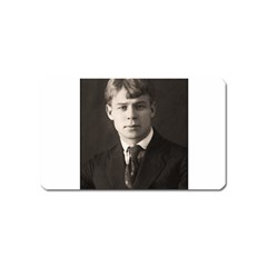 Sergei Yesenin Magnet (name Card) by Valentinaart