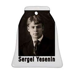 Sergei Yesenin Bell Ornament (two Sides) by Valentinaart