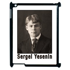 Sergei Yesenin Apple Ipad 2 Case (black) by Valentinaart