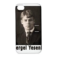 Sergei Yesenin Apple Iphone 4/4s Hardshell Case With Stand by Valentinaart
