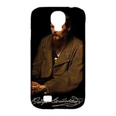 Fyodor Dostoyevsky Samsung Galaxy S4 Classic Hardshell Case (pc+silicone) by Valentinaart